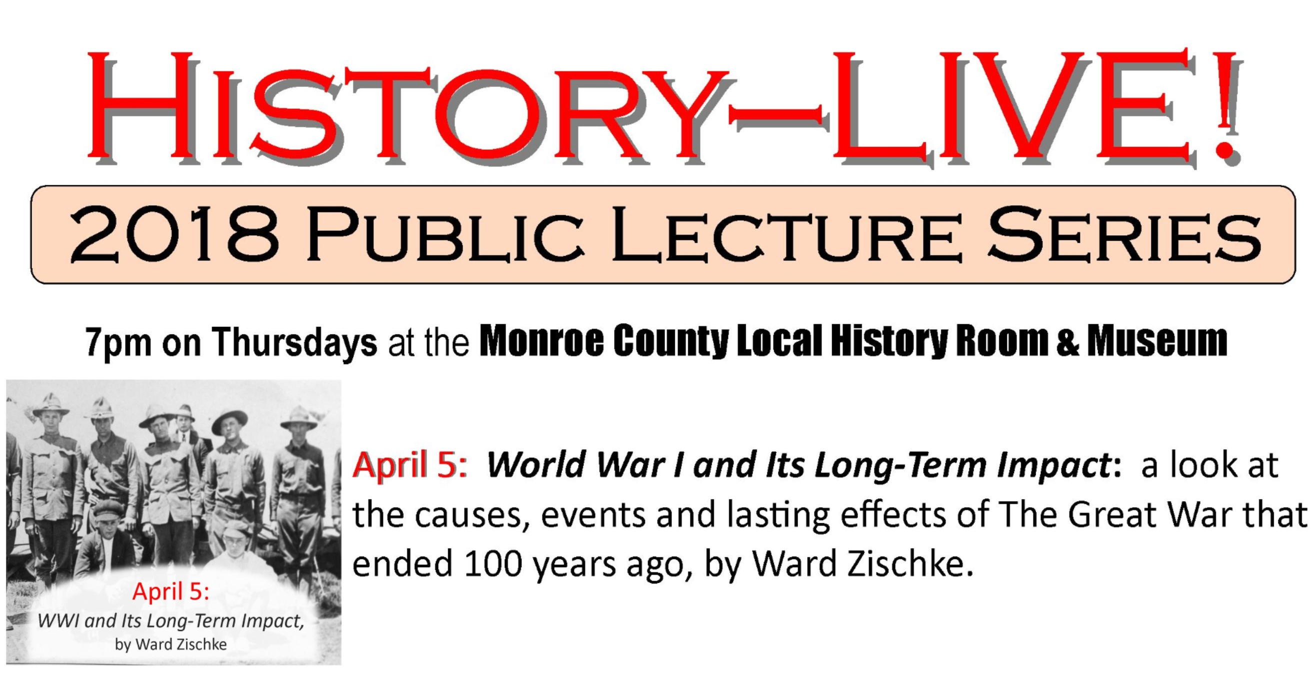 Monroe County Local History Museum The Best Website To Research These Pages Describe Domestic Wiring System Installed In Spooky World War I Program 7pm April 5th 2018